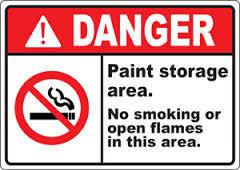 bahaya cat mudah terbakar