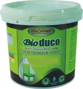 Biocolours® Bioduco solid stain merupakan produk cat duco yang menggunakan bahan dasar water based acrylic pigmented.