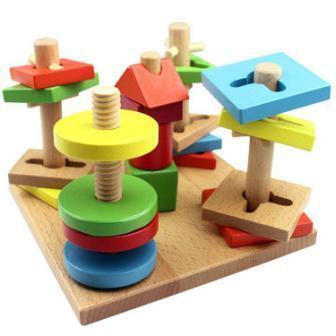 cat mainan kayu