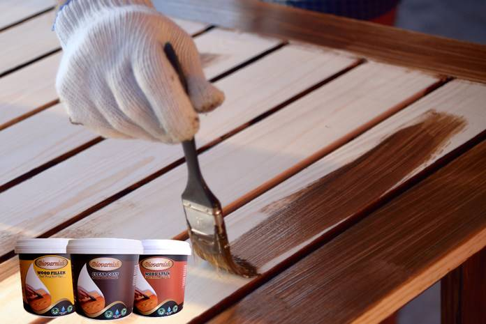 Painting wooden